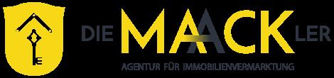 Logo Die Maackler - weißer Hintergrund