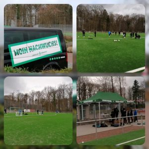 Leistungstest U 11 – U 14 in Kooperation mit Werder Bremen in Harsefeld